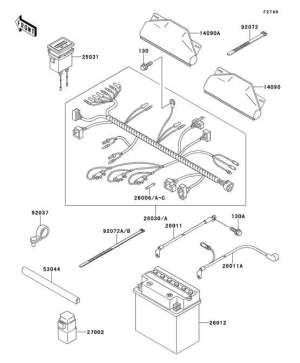 Kawasaki Mule Parts Diagram
