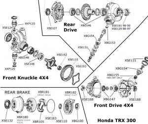 Honda Rancher 350 Parts Diagram Honda Wiring Diagram Images