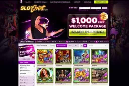 スロットはオンラインカジノの定番