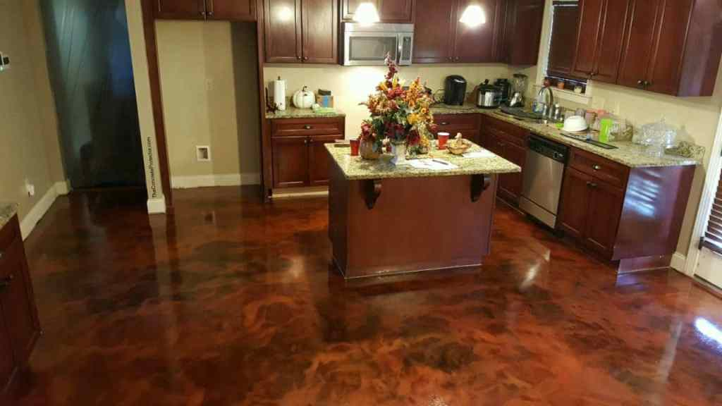 Stained Flooring