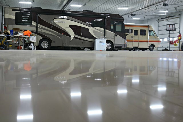 commercial epoxy for garage