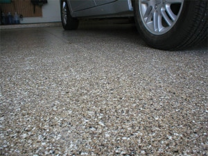 epoxy on garage floor