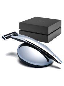 Razor Handle R1 - Chrome With Razor Stand Gift Set