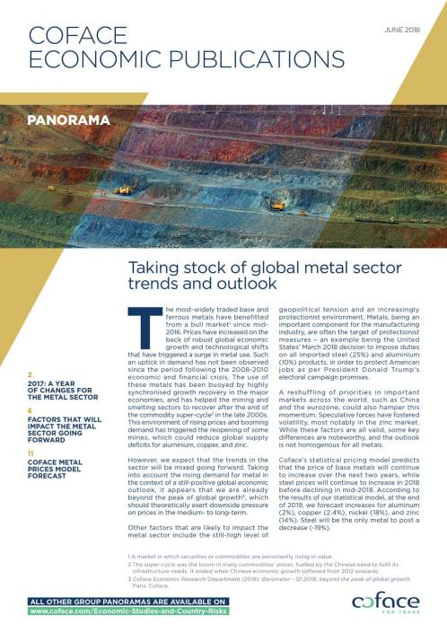 Taking stock of global metal sector trends and outlook