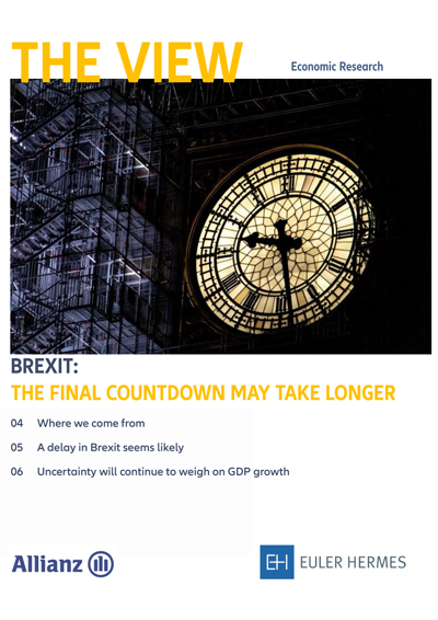 Brexit: the final countdown may take longer