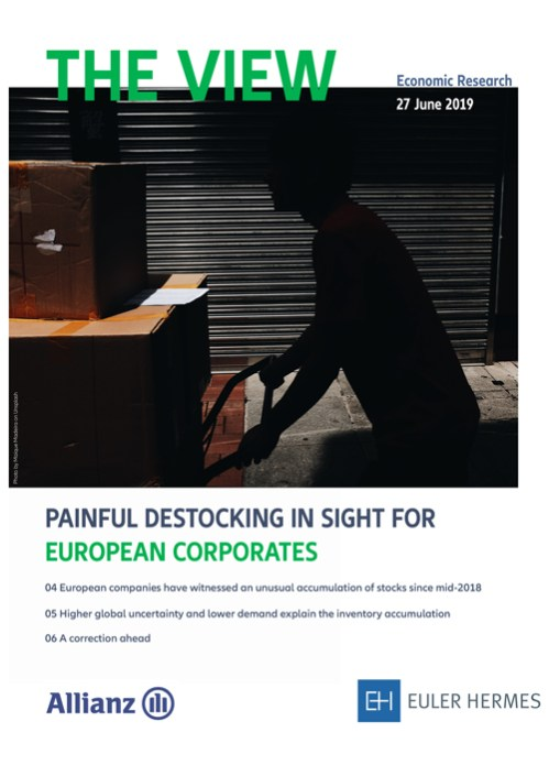 Painful destocking in sight for european corporates