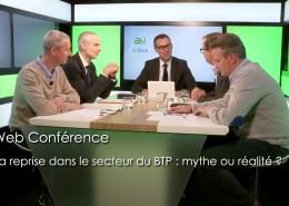 La reprise dans le secteur du BTP