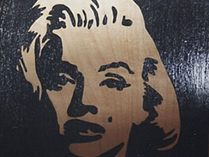 Marilyn | Marqueterie