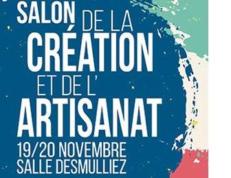 Salon de la Création et de l'Artisanat à Lys-Lez-Lannoy – 19 et 20 Nov. 2016