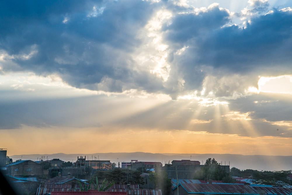 Naivasha Coucher de soleil