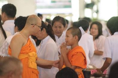 l'échange entre un moine et un novice