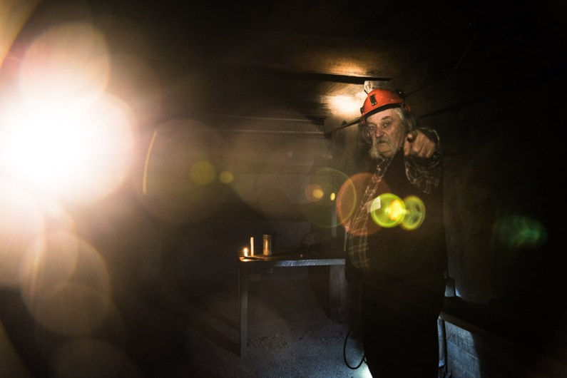 Visite de la mine de Bendigo en compagnie de Laurie qui nous explique la difficulté d'être mineur