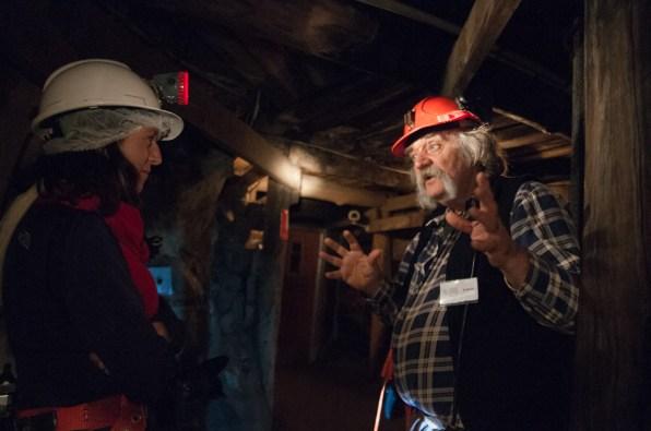 Visite de la mine de Bendigo en compagnie de Laurie