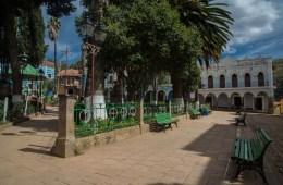 la place du village de Totora
