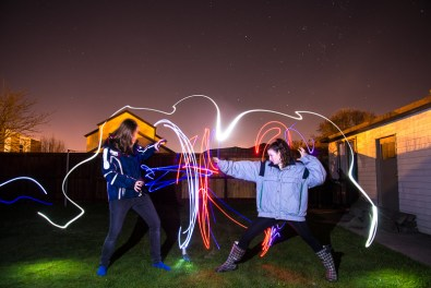 christchurch lightpainting / © Du Monde au Tournant