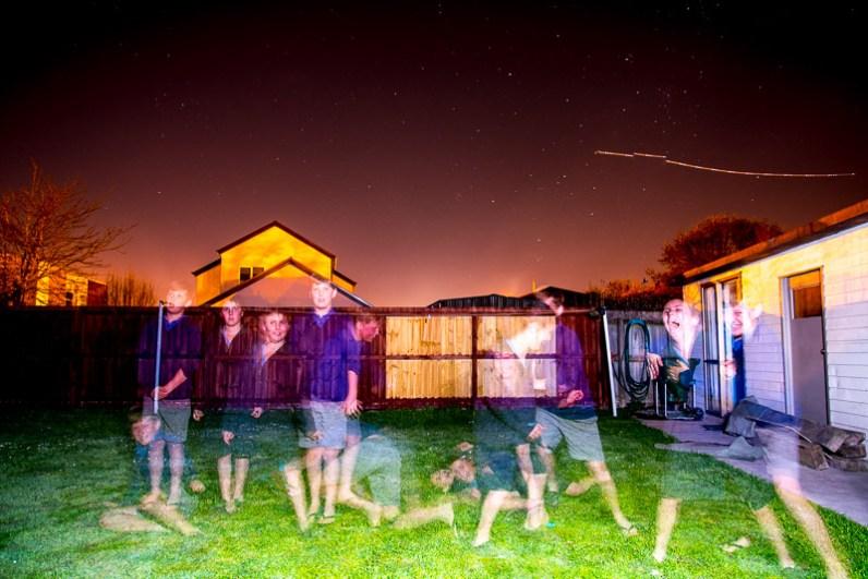 christchurch lightpainting / © Du Monde au Tournant