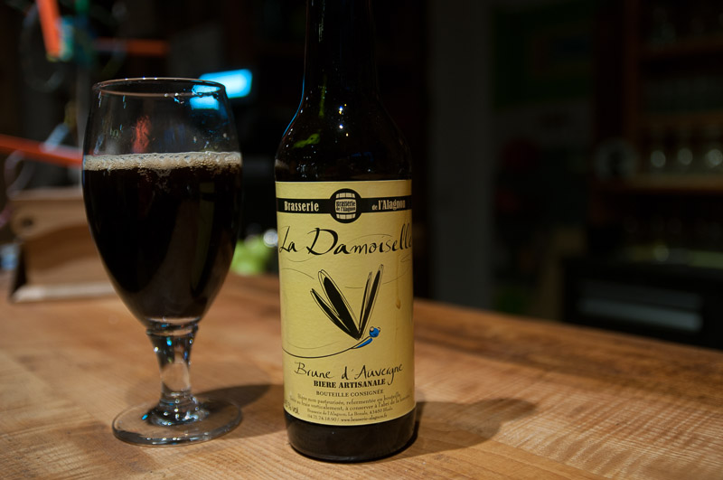 Bière artisanale de la région D'auvergne, la Demoiselle l © Michel Dvorak / Du Monde au Tournant