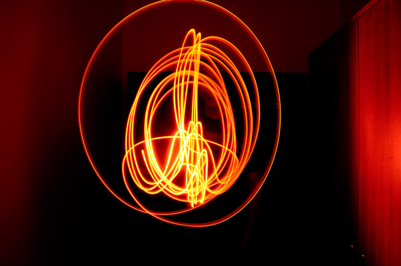 Tulle lightpainting / © Du Monde au Tournant