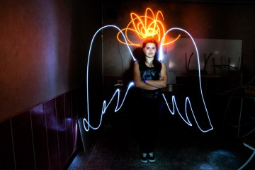 Conseils photo lightpainting / © Du Monde au Tournant