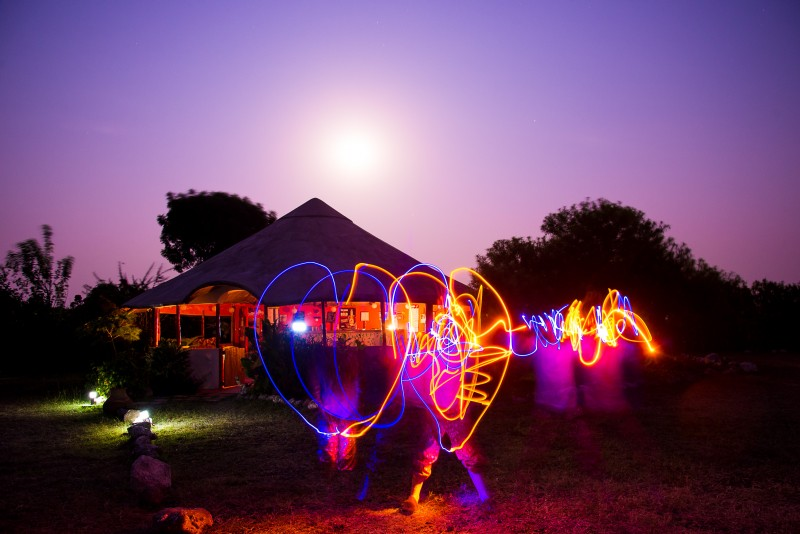 love hear lightpainting / © Du Monde au Tournant