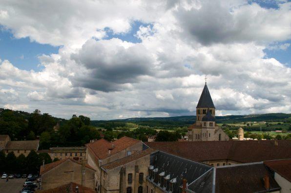 vue depuis la tour au fromage, Cluny