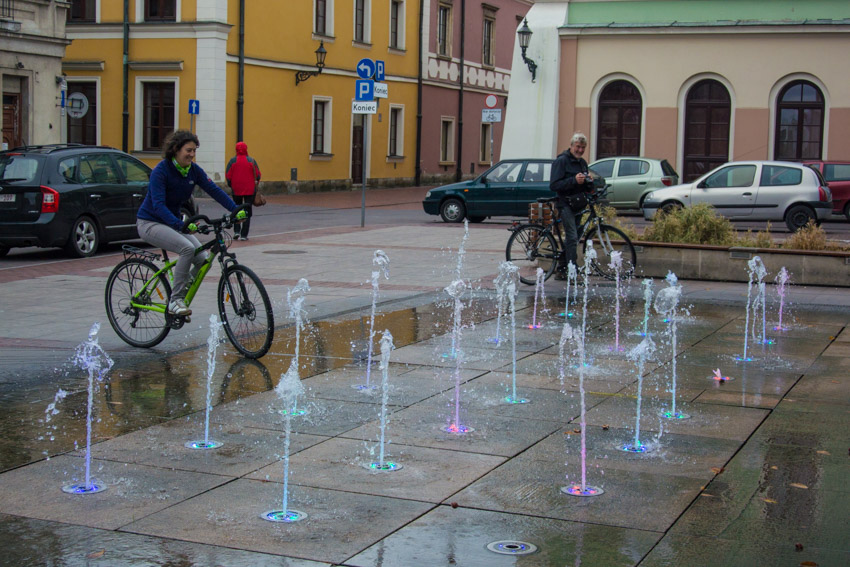 Week-end en Pologne, le long de la Green Velo - Zamosc
