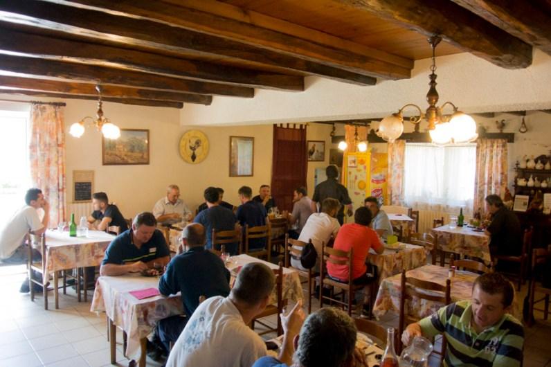 L'auberge du Tilleul à Le Bez © Michel Dvorak / www.au-tournant.org