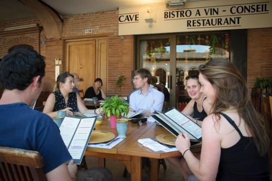 La table du Sommelier à Gaillac © Michel Dvorak / www.au-tournant.org