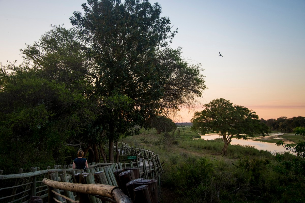 Lower Sabie rest camp Kruger Park