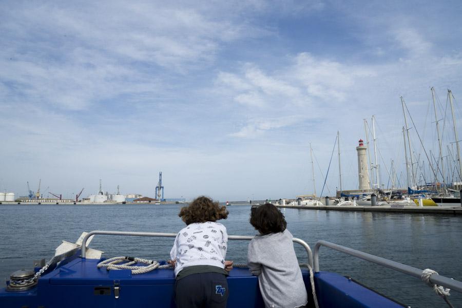 Balade en bateau à Sète