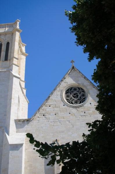 Cathédrale Saint-Caprais d'Agen - dehors Photo : Michel Dvorak