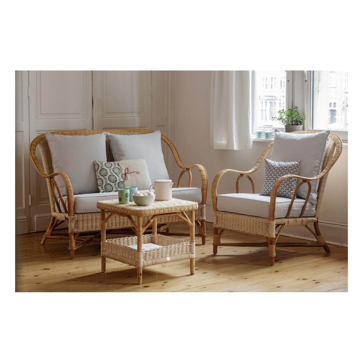 salon nantucket rotin naturel canape 2 fauteuils