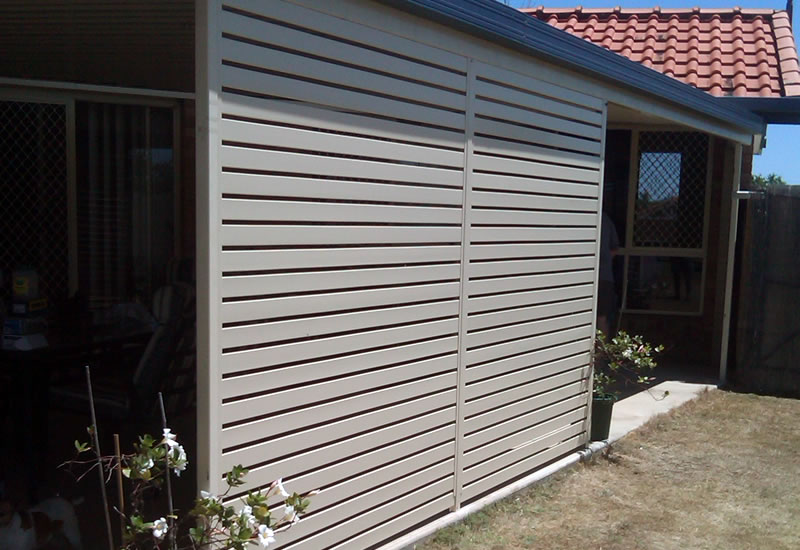 Privacy Screens Aubaine Aluminium Solutions