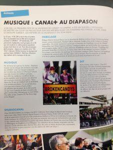 Interview fête de la musique Canal+