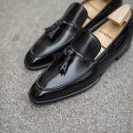 Le mocassin tassel loafer a pampilles Dorian en cuir noir