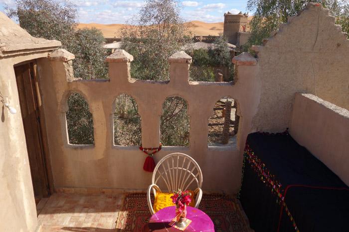 Room Terrace At Desert Hotel Auberge Cafe Du Sud