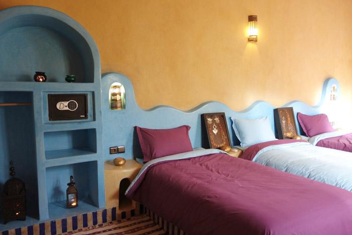 Triple Room At Desert Hotel Auberge Cafe Du Sud
