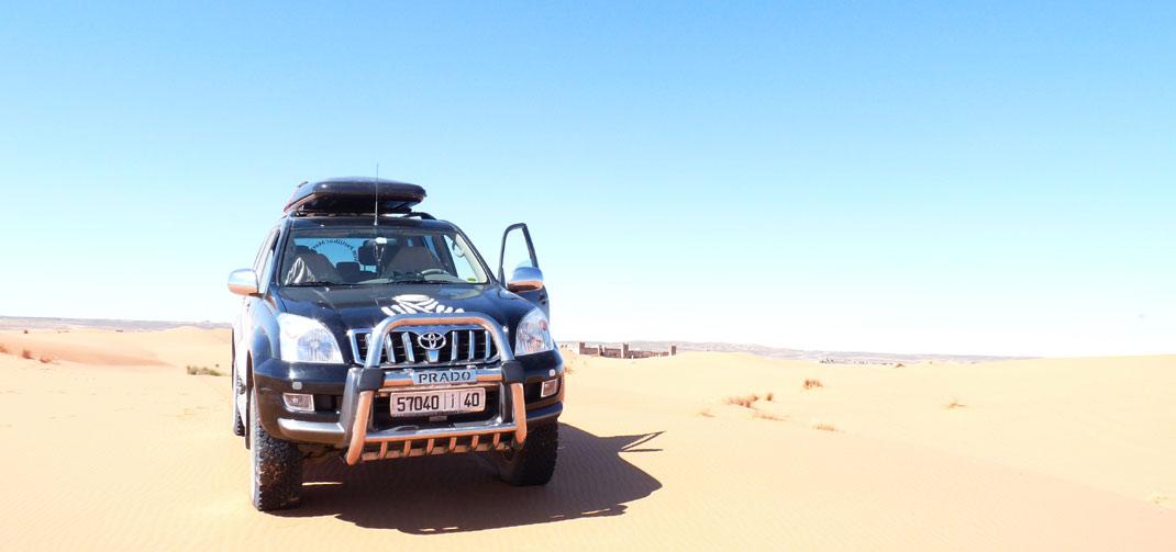 Ruta 4X4 en el desierto de Marruecos