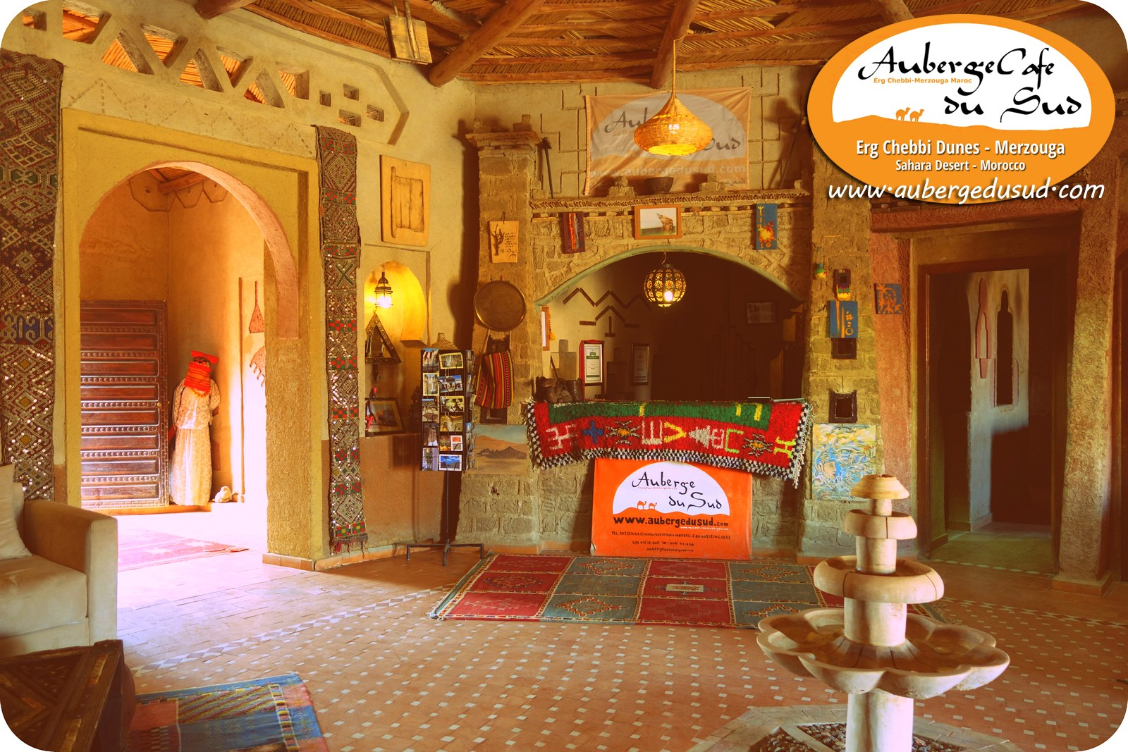 🐪 Auberge Reception And Visitors Welcome Area