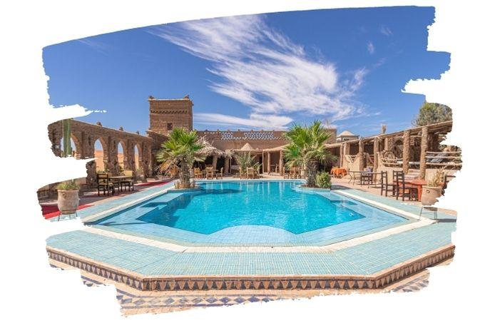 hôtel avec piscine au Maroc