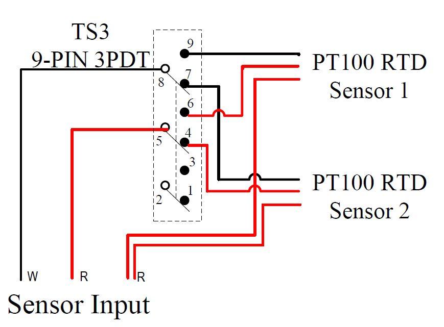 pt100 thermocouple wiring diagram wiring diagram Pt100 Rtd Wiring Diagram rtd wire colors mirbec pt100 rtd wiring diagram