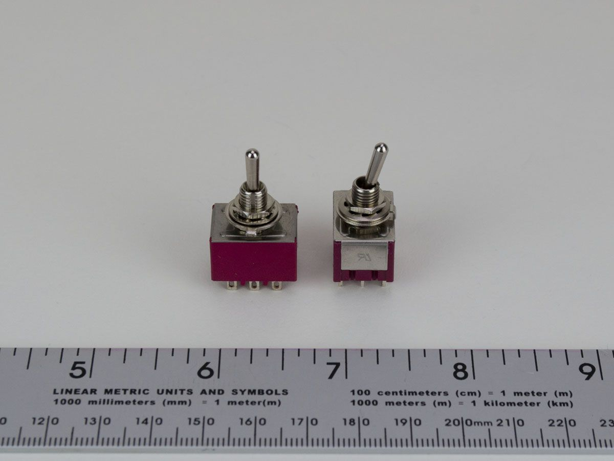 9 Pin 3pdt On On Toggle Switch Rtd Sensor Switching Ts3