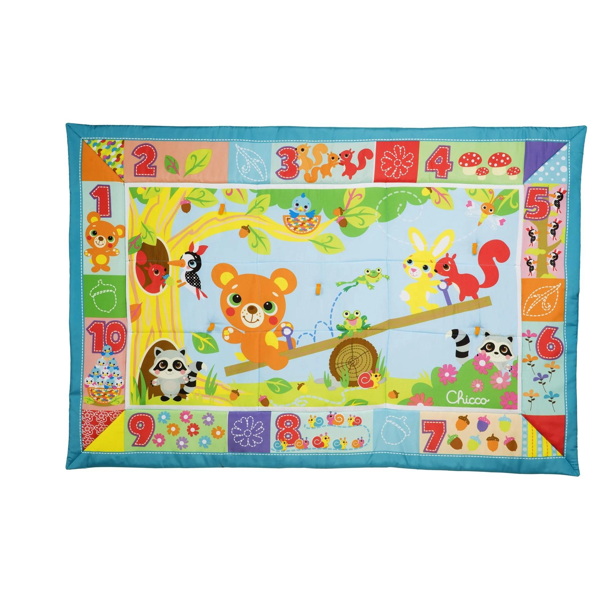 tapis de la foret xxl multicolore