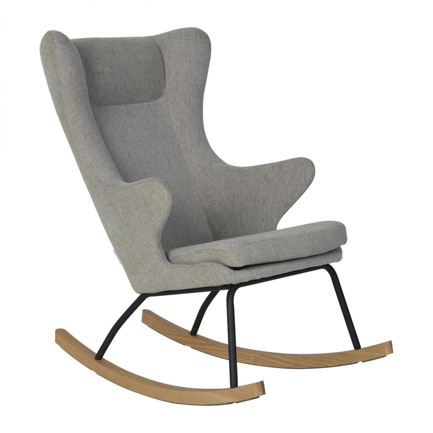 fauteuil a bascule adulte de luxe sand