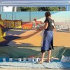 Michelle-Auboiron-Neon-Boneyard-peinture-live-a-Las-Vegas-6 thumbnail