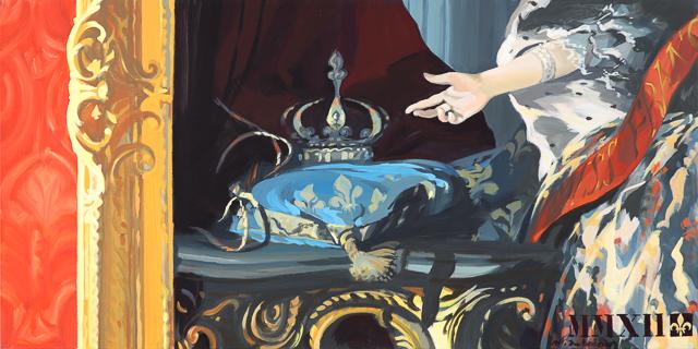 Concours de Beauté - Détournement des tableaux officiels du Château de Versailles par Michelle Auboiron