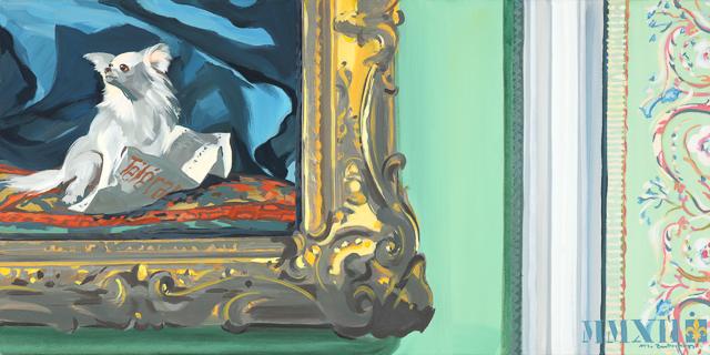 Tout un Programme - Détournement des tableaux officiels du Château de Versailles par Michelle Auboiron