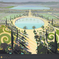 ma-vie-de-chateau-peinture-michelle-auboiron-30-orangerie-bassin-des-suisses-tryptique-centre-120x120