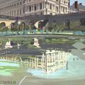 ma-vie-de-chateau-peinture-michelle-auboiron-34-bassin-orangerie-reflets-120x120