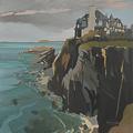 Peinture de la Villa Force 10 à Saint Briac sur Mer par Michelle AUBOIRON